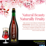 Enjoy Cherry Blossom Festival with Echt Kriekenbier
