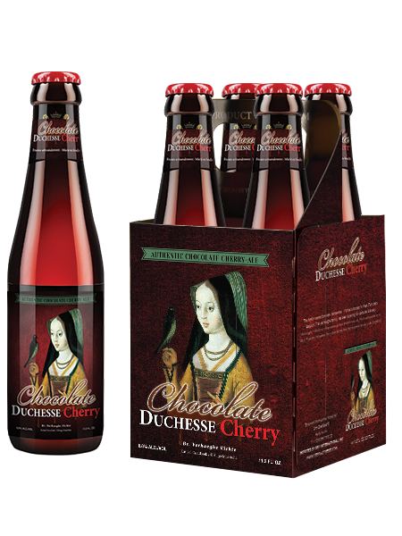 Chocolate Duchesse Cherry Bottle and 4 pack